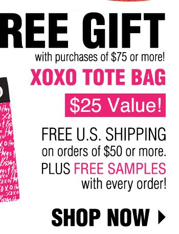 FREE GIFT with purchases of $75 or more!