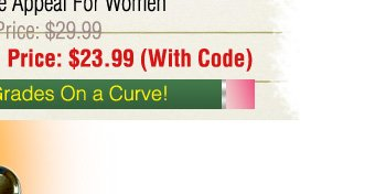 Curve Appeal $23.99 with Code!