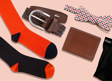 Let's Talk Details: Men's Socks, Bow Ties, & More