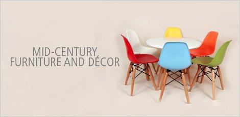 Mid Century Furniture & Decor