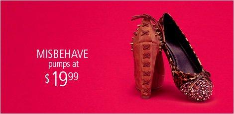 Misbehave Footwear
