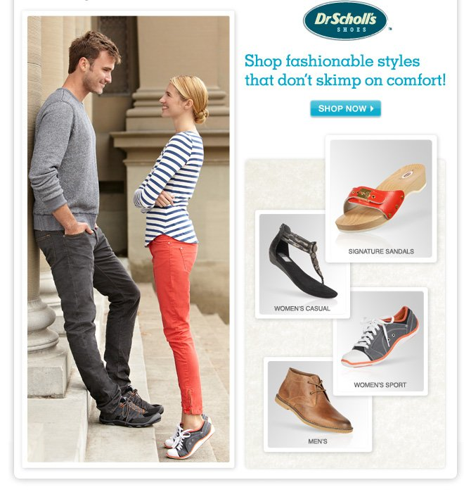Up to 59% OFF Dr. Scholl's Shoes - Shop fashionable styles that don't skimp on comfort!