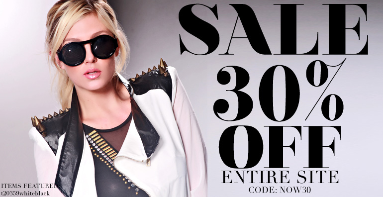 30% Off Everything at AMI Clubwear!