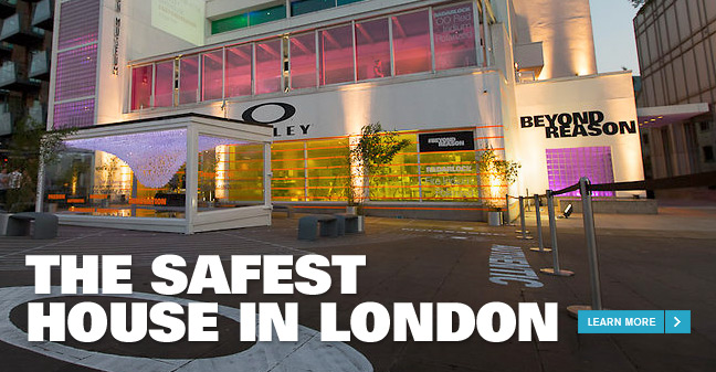 THE SAFEST HOUSE IN LONDON