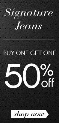 Buy 1 Get 1 50% OFF!