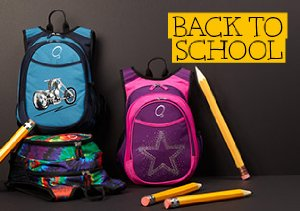 Back to School: O3 backpacks