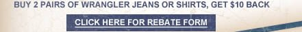 Wrangler Rebate Form