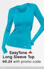 EasyTone Long Sleeve Top $41.24 with promo code