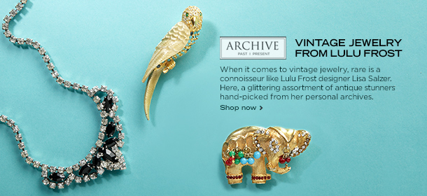 ARCHIVE: VINTAGE JEWELRY FROM LULU FROST, Event Ends August 5, 9:00 AM PT >