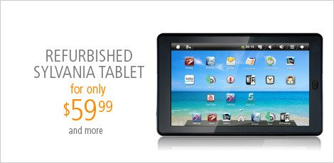 Refurbished Sylvania Tablet
