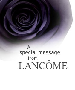 A special message 