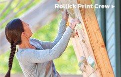 Rollick Print Crew >