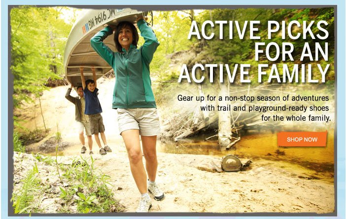 Active Picks for An Active Family