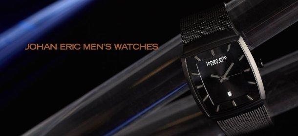 JOHAN ERIC MEN'S WATCHES, Event Ends August 3, 9:00 AM PT >