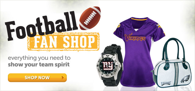 Football FAN SHOP - everything you need to show your team spirit - Shop Now