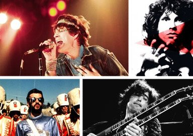 Shop Behind the Music: Rock Icon Prints