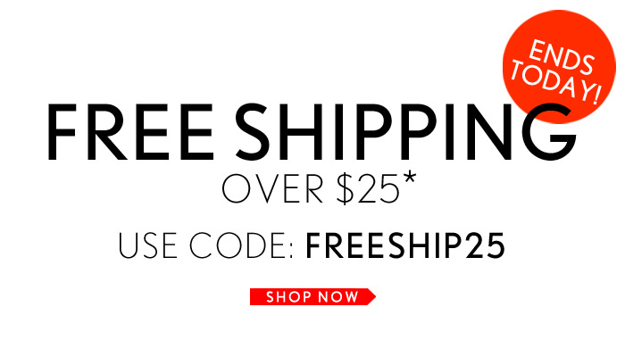 Hurry - Free Shipping Ends Today! - Shop Now