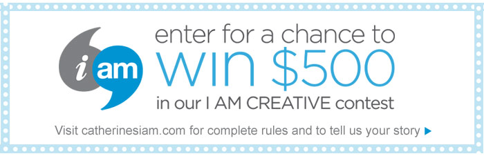 i am – enter for a chance to win $500 in our I AM CREATIVE contest