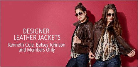 Designer Leather Jackets
