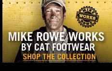 Mike Rowe Works by Cat Footwear