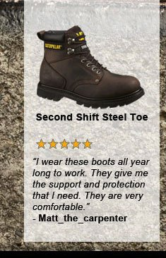 Second Shift Steel Toe