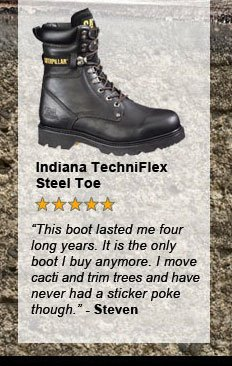Indiana Techniflex Steel Toe