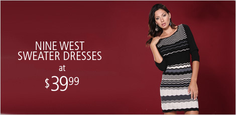 Trend Alert: The Sweater Dress by Nine West