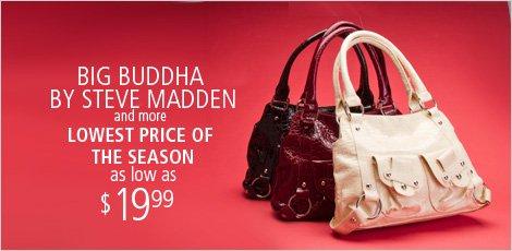 Big Buddha Handbags and More