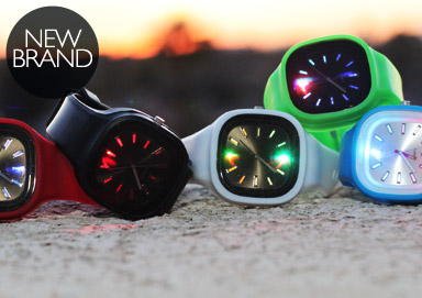 Shop Clocker: LED Light Watches