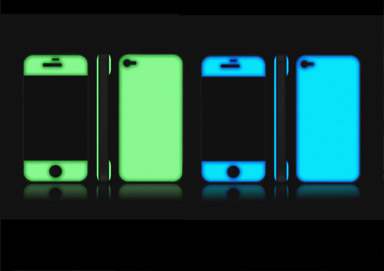 Shop GLOW IN THE DARK iPhone Skins