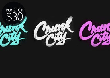 Shop Crunk City: Tees & Tanks