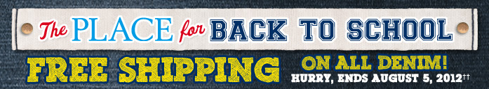Free Shipping On All Denim