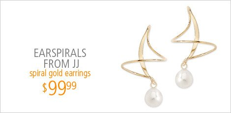 Earspirals from JJ Jewelry