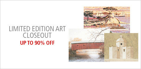 Limited Edition Art Closeout