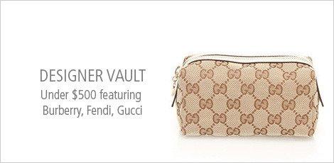 Designer Vault Under $500