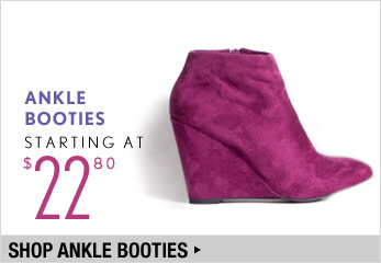 Ankle Booties Starting at $22.80 - Shop Now