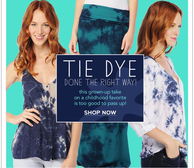 Tie-dye done the right way