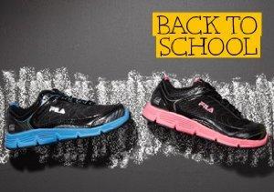 Gym Class: Fila Shoes