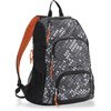 Triple Pocket Grey Backpack