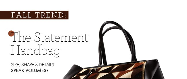 The Statement Handbag