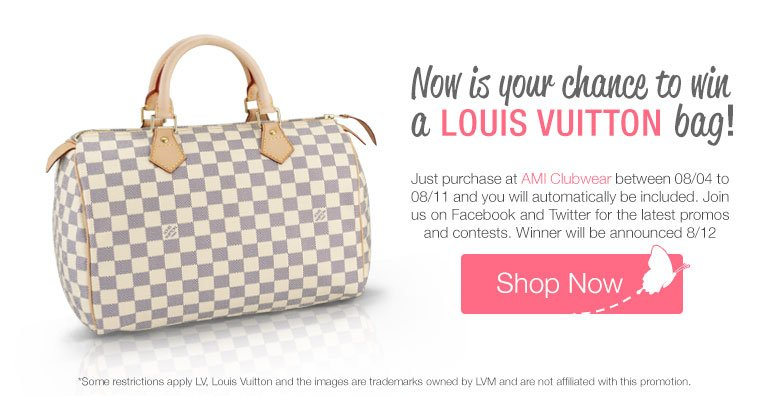 Win a new Louis Vuitton Bad from AMI