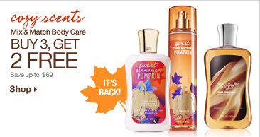 Mix & Match Body Care – Buy 3, Get 2 Free