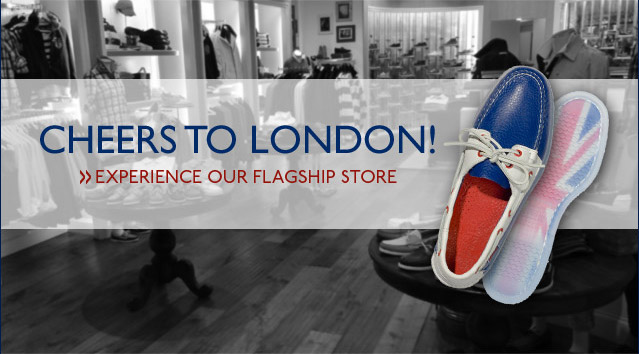 Cheers to London    See Our Flagship Store