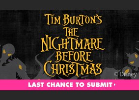 The Nightmare Before Christmas Challenge. Submit now