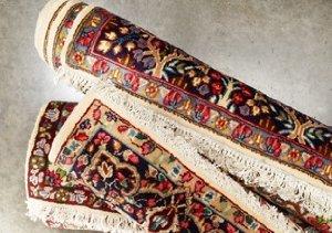 Roubini One of a Kind Antique Kirman Rugs