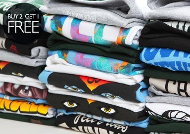 Shop Back to School: Tee Stock-Up Event
