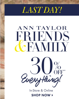 LAST DAY!