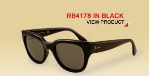 RB4178 IN BLACK
