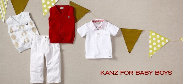 KANZ FOR BABY BOYS, Event Ends August 2, 9:00 AM PT >