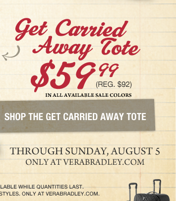 Get Carried Away Tote $59.99 (reg. $92)